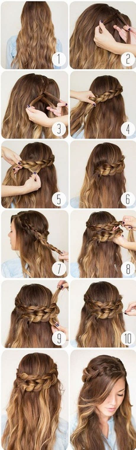 Easy Hair Styles For College by 10 Easy Hairstyles For School