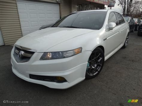 2007 acura tl colors 2007 white pearl acura tl 3 5 type s 117937206