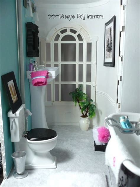 diy dollhouse bathroom 25 best ideas about barbie bathroom on pinterest barbie
