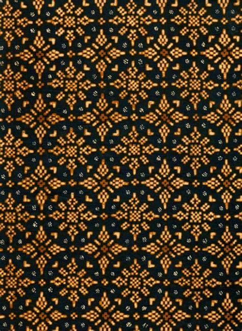Motif Pola Seni Mosaic Pattern belajar seni budaya motif batik nusantara