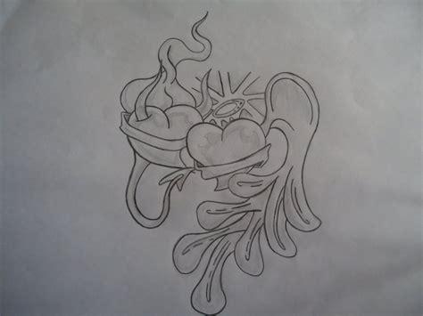 imagenes a lapiz de suicidas corazon angel y demonio por nicolas sabalero19 dibujando