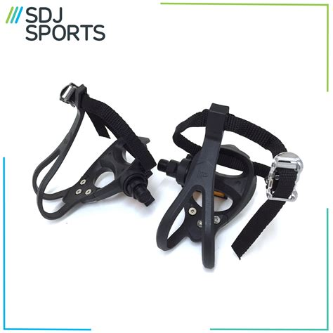clip in pedals and shoes for road bikes road racing bike pedals toe and straps made by vp ebay