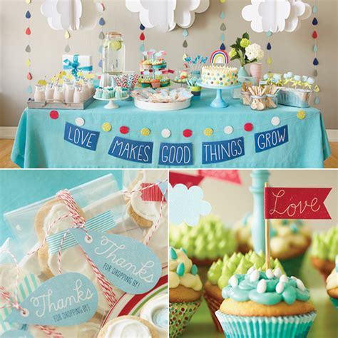 Things To Get For Baby Shower by Makes Things Grow Baby Shower Theme Hallmark