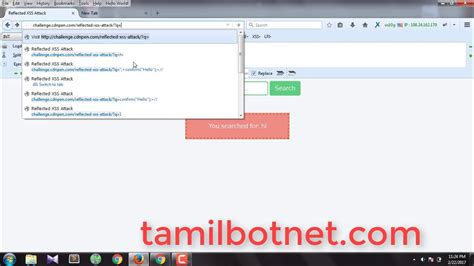 xss tutorial youtube reflected xss bypassing solution with mod security tamil