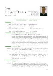Curriculum vitae english template curriculum vitae europass home ntrp