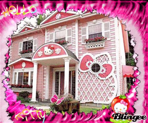 hello kitty mansion hello kitty house picture 93022813 blingee com