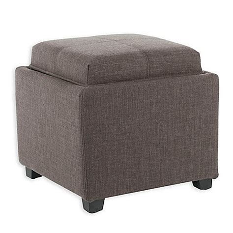 Buy Safavieh Harrison Single Tray Storage Ottoman In Charcoal From Bed Bath Beyond Buy Safavieh Harrison Single Tray Storage Ottoman In Charcoal From Bed Bath Beyond