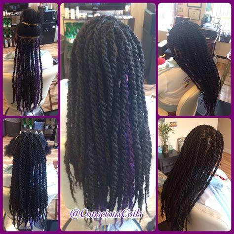 what kind of hair to use for twistie braids style havana marley twists client s hair type 3a b hair