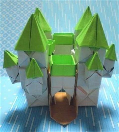 How To Make A Origami Castle - 1000 images about origami on origami tutorial