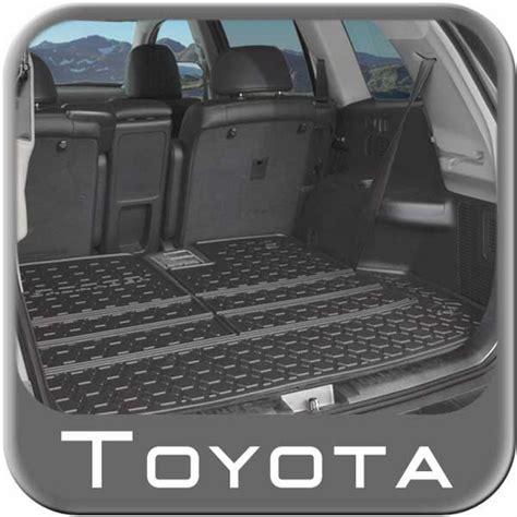 Toyota Highlander Cargo Mat by 2011 2013 Toyota Highlander Cargo Liner All Weather Style