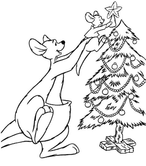 kangaroo coloring pages pdf disney christmas kangaroo is very pleased with all of this