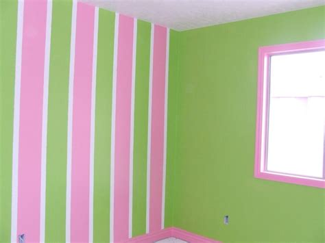pink and green walls in a bedroom ideas tona painting job pictures stripes awesome girl room idea