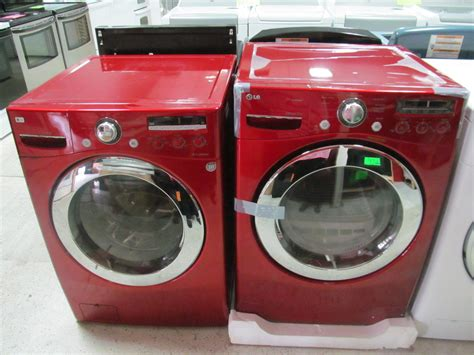 colored washer and dryer washers dryers appliance store