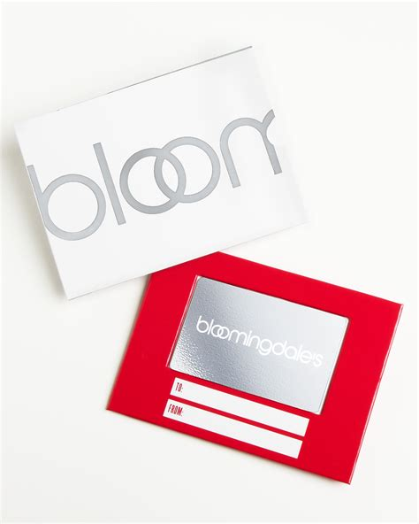 Bloomingdale Gift Card - only at bloomingdale s gift card with box silver bloomingdale s
