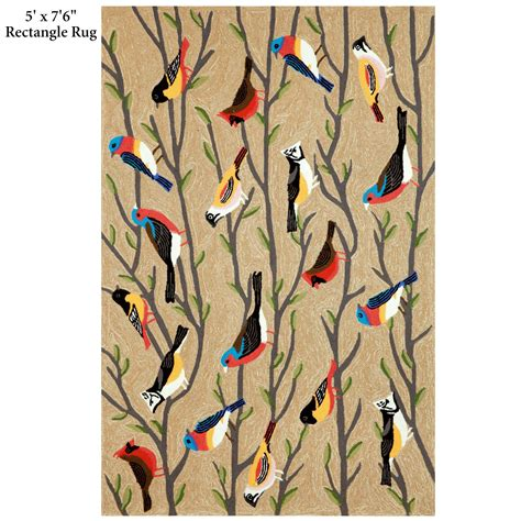 Parrot Rug by Bird Indoor Outdoor Rugs By Liora Manne