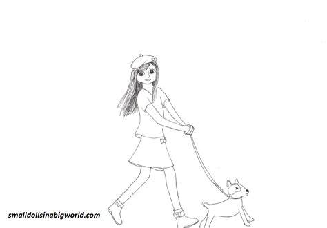 Coloring Pages American Girl Grace | grace coloring page 4