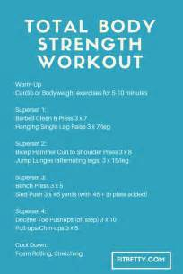 total strength workout the fit cookie