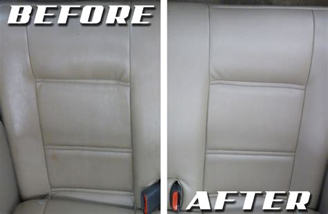 How To Clean The Upholstery In Your Car by How To Clean Leather Car Seats Upholstery Cleaning Hub