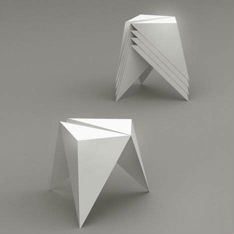 Origami Designer - unfolding interior design origami inspired furniture