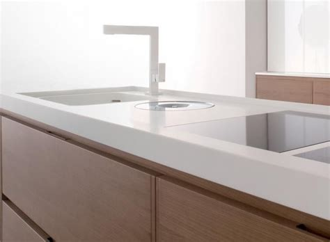 White Solid Surface Worktop 10 Easy Pieces Remodelista Kitchen Countertop Picks