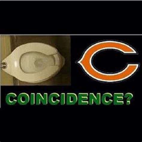 bears toilet seat coincidence chicago bears