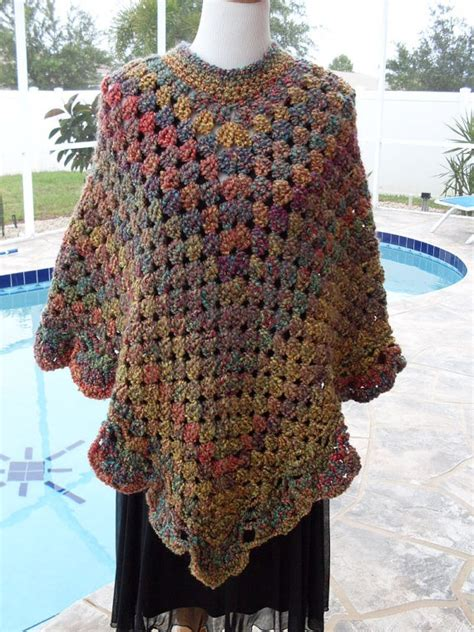 crochet poncho pattern free pinterest crochet round poncho free pattern dancox for