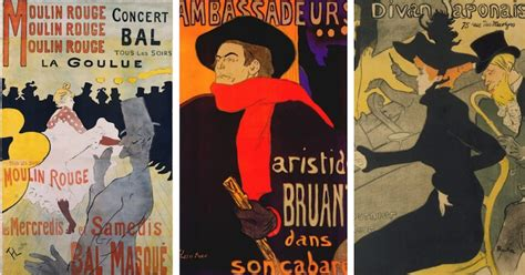 toulouse lautrec posters how his graphic prints captured