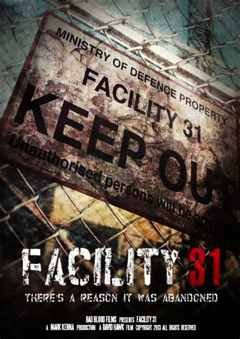 film horror upcoming upcoming horror movie quot facility 31 quot 2015 for plot fb me