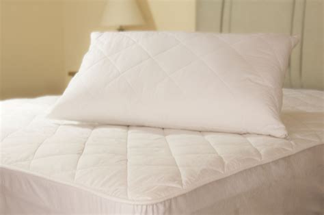 bed pillow protectors slight second extra thick 100 cotton quilted pillow
