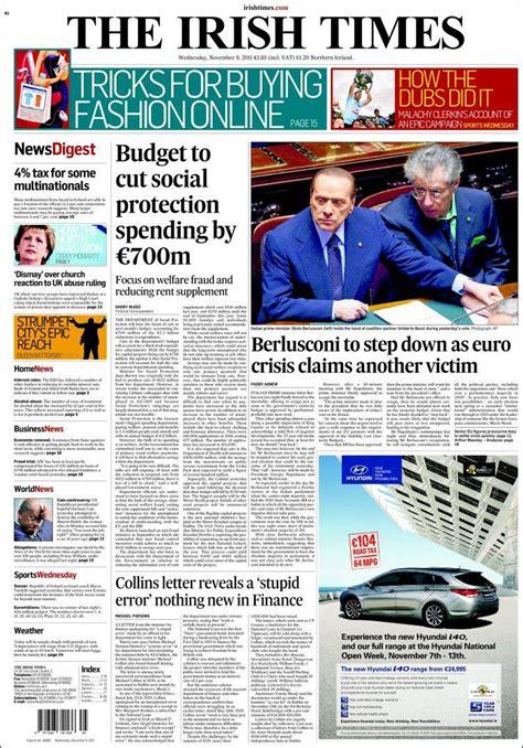 irish sunday times business section image gallery irish times new paper