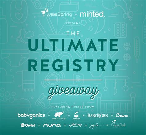 Ultimate Baby Registry Giveaway - 2017 ultimate registry giveaway weespring
