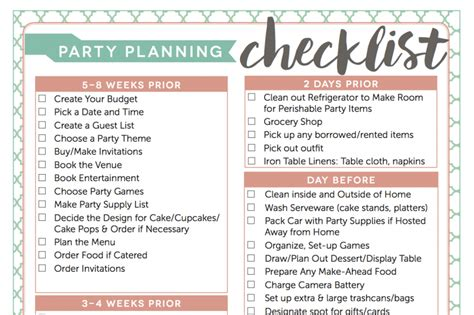house party planning checklist 5 tips to hosting an awesome dinner party for your friends beryllicious a food