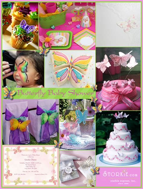 Theme Baby Shower by Butterfly Baby Shower Theme Ideas And Planning Storkie