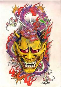 hanya and dragon flash design by punch line designs on