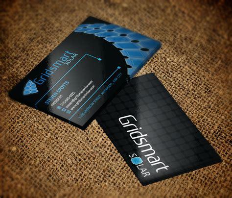 Solar Business Card Templates by Solar Business Cards Images Business Card Template
