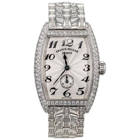 Franck Muller Tikar Gold White franck muller s white gold wristwatch for sale at 1stdibs