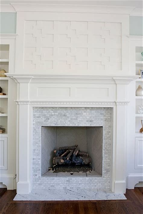 fireplaces tile and the fireplace on