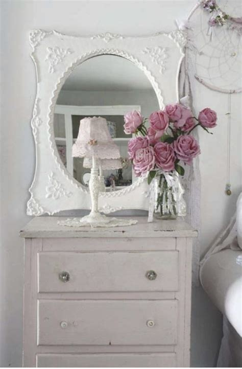 mirror shabby chic1 not too shabby pinterest romantic chic and romantic home decor