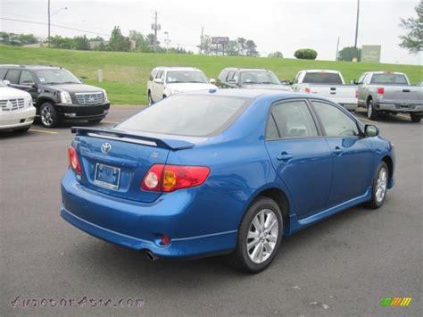 2010 Toyota Corolla S Blue 2010 Toyota Corolla S In Blue Streak Metallic Photo 5