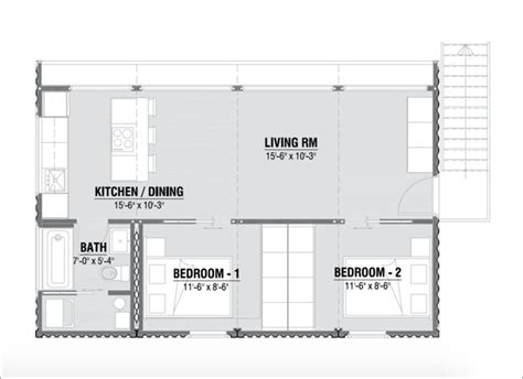 Prefabricated Homes from Shipping Containers in 3