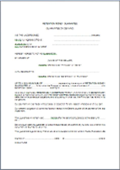 Lettre De Garantie Bancaire Pour Visa garantie sur demande de retenue de garantie en