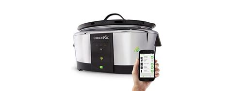 brilliant remote wifi crock pot slow cookers crock pot sccpwm600 v2 wemo slow cooker review the
