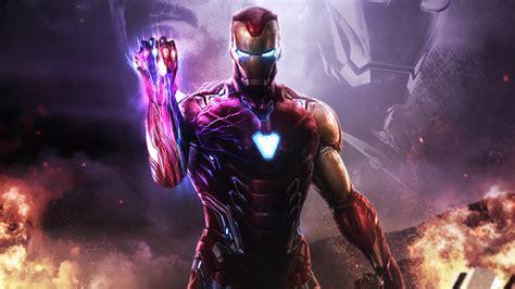avengers endgame iron man infinity stones