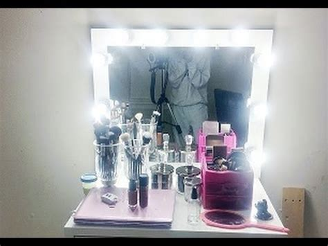 Vanity Mirror How To Make D I Y Lighted Vanity Mirror