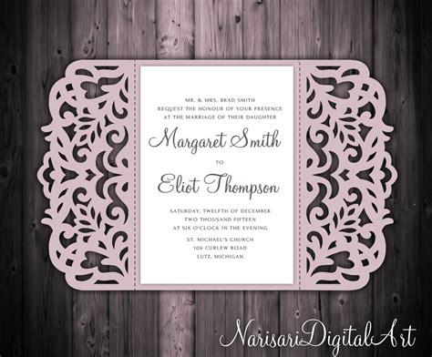 free gate fold wedding invitation templates design your own wedding invitations free 5x7