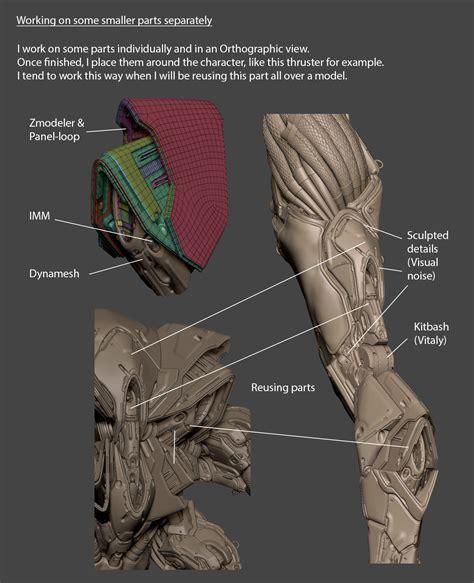 zbrush anatomy tutorial wasp 3d art tutorial by marco plouffe zbrushtuts