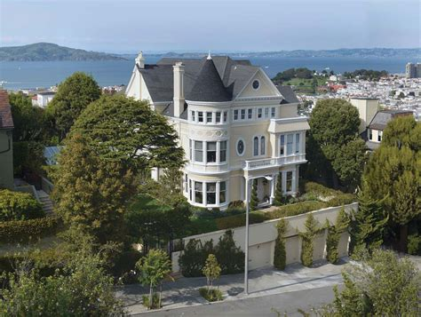 Pacific Home by Historic Pacific Heights Mansion On Sale For 30 Million