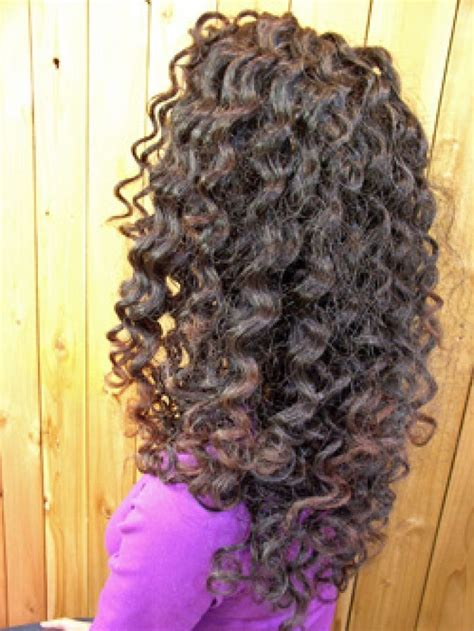 photos of the diffrence between a spiral perm and a nomal perm piggyback perm long hair perm hairstyles for medium hair