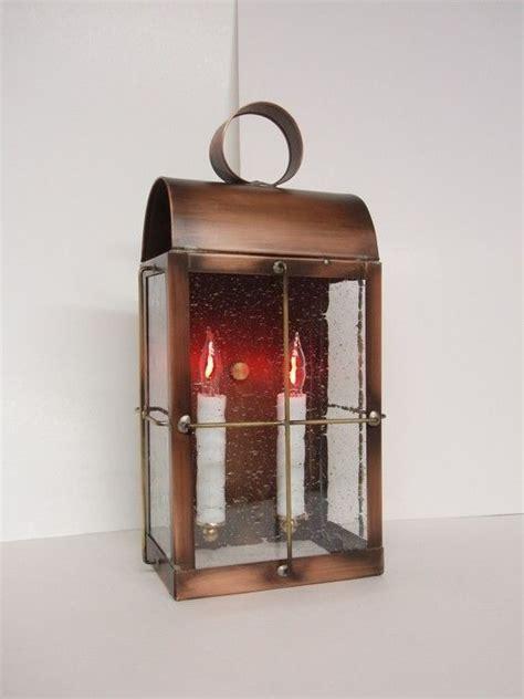 Handmade Copper Lanterns - handmade outdoor solid copper lantern quot skipper lantern quot by