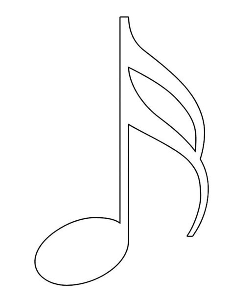 printable music note coloring pages for kids coolbkids